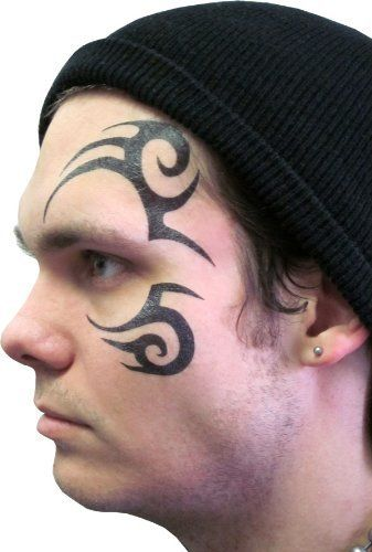 4d148017e Tribal Face Temporary Tattoo As Seen on Stu in Hangover 2 TV Store. $4.95.  Fits Around The Eye. 4