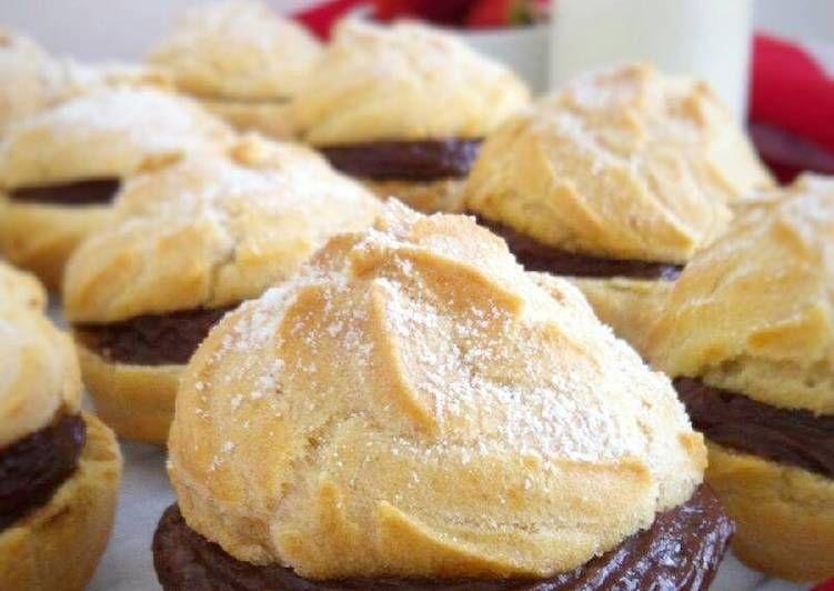 Resep Soes Sus Vla Coklat Pisang Oleh Fitri Sasmaya Resep Resep Makanan Memasak Resep