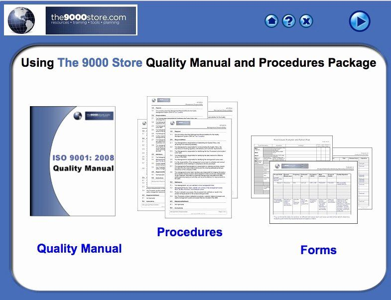 Iso 9001 Work Instruction Template Luxury Iso 9001 2015 Quality Manual Procedures 9000 Store Templates Program Template Contract Template