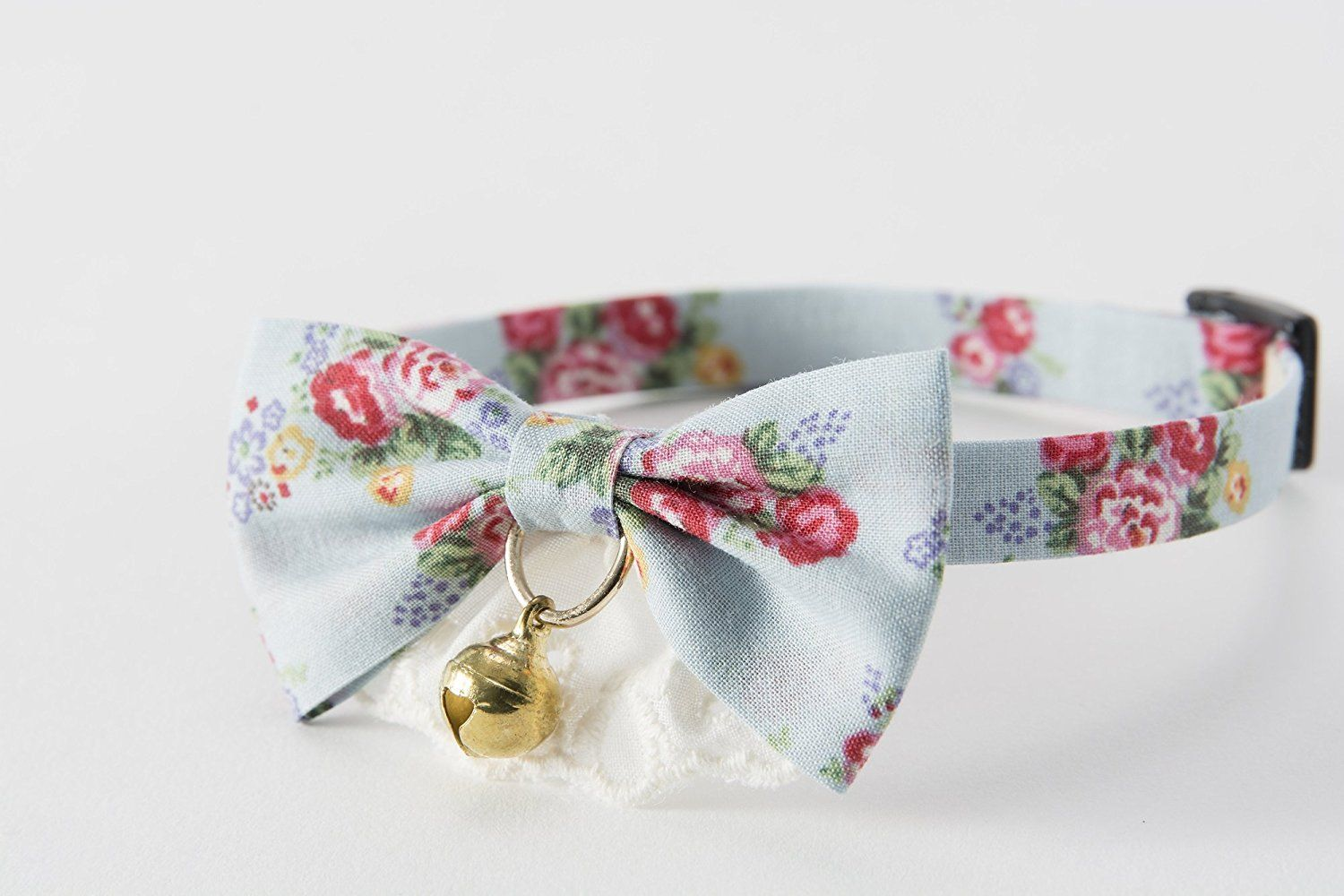 Cat1st flower pattern cat collar remarkable product