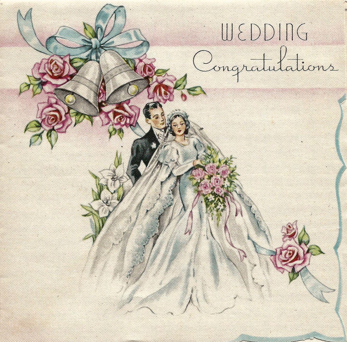 Английское поздравление со свадьбой