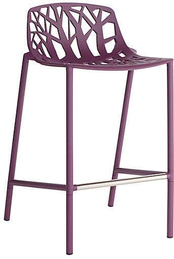 Super Forest Low Back Counter Stool Plum Products In 2019 Bralicious Painted Fabric Chair Ideas Braliciousco