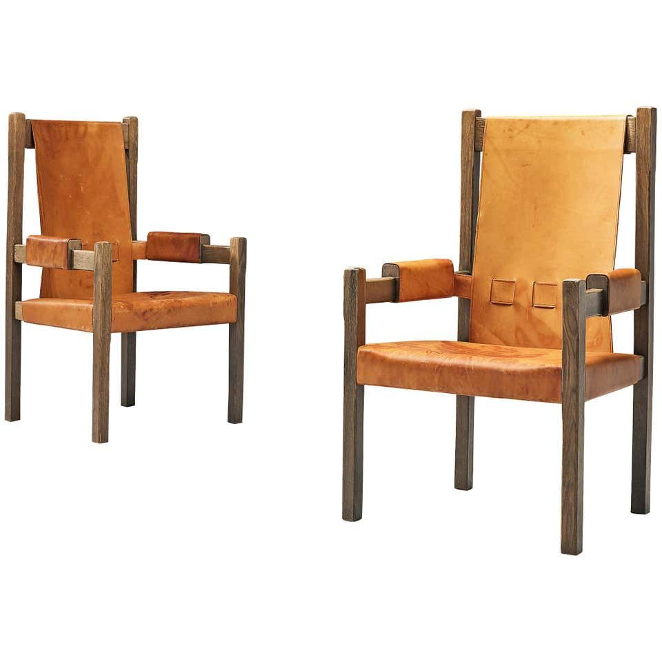 Scandinavian Armchairs With High Backs In 2020 Scandinavian Armchair Armchair Leather Armchair