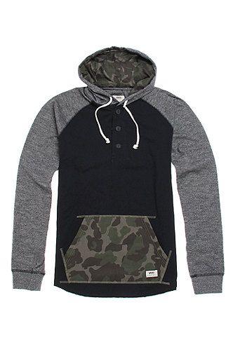Vans Lindero Pullover Hooded Shirt at PacSun.com