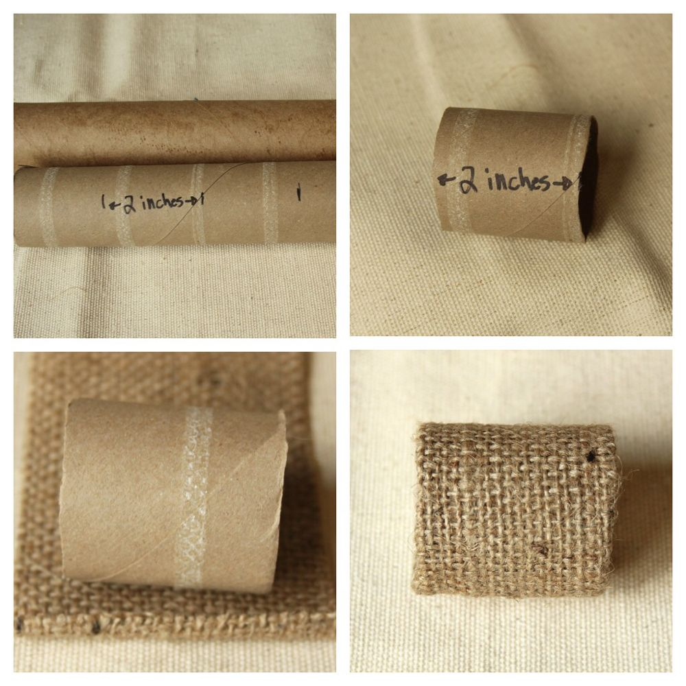 Eco Chic Button Napkin Rings #napkinrings