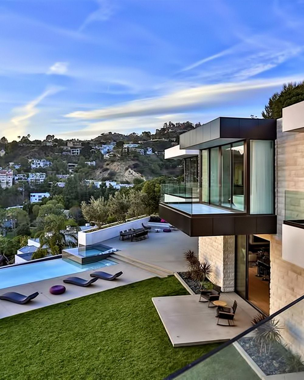 Luxury House In Los Angeles California: Luxurious Los Angeles Sunset Strip Mansion With