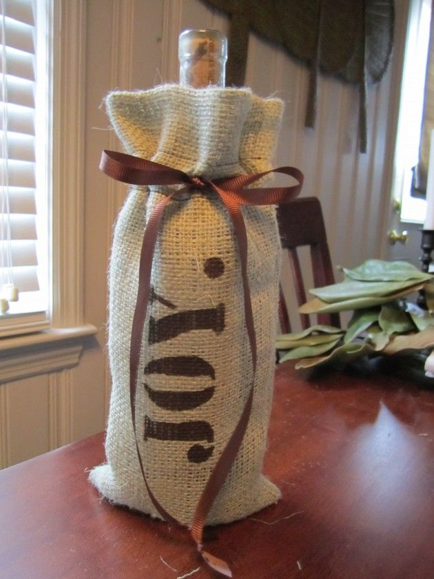 20 Cute Diy Projects With Burlap Crafts Pinterest Burlap