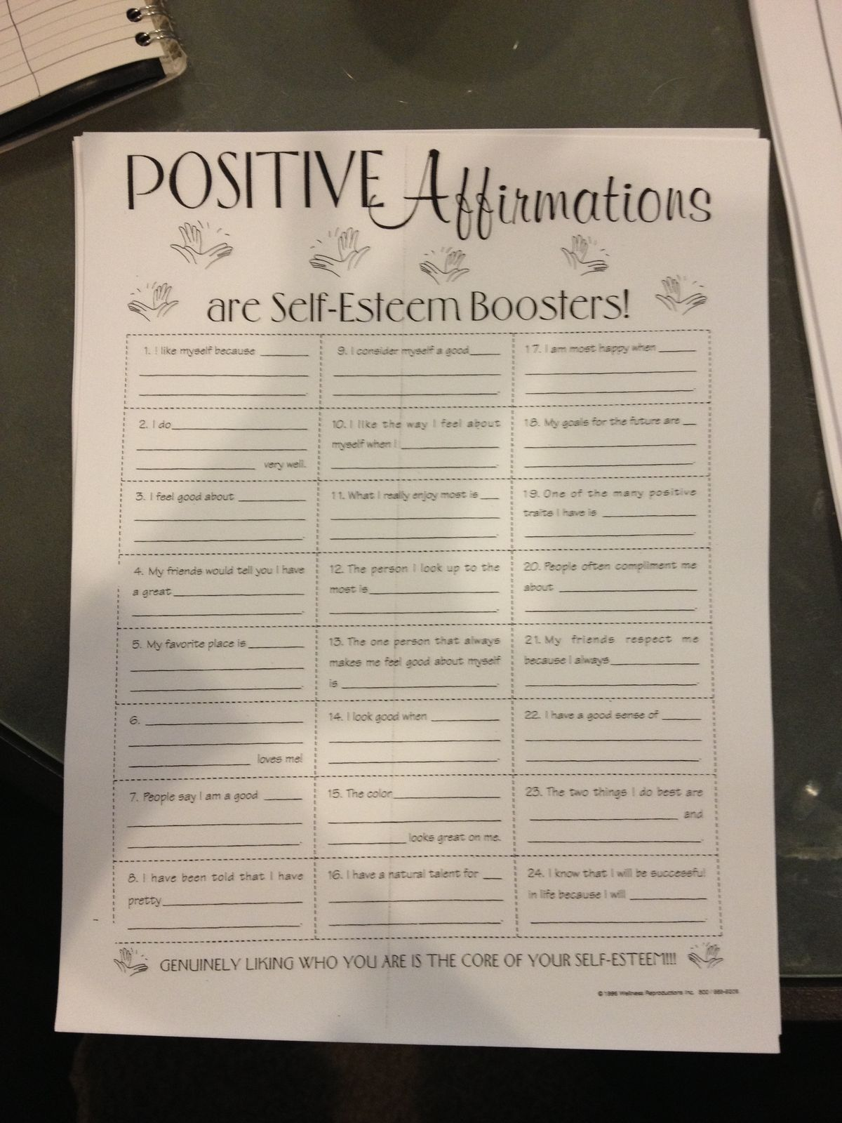Pin By Andrewandmarie Croulet On Affirmation Activities