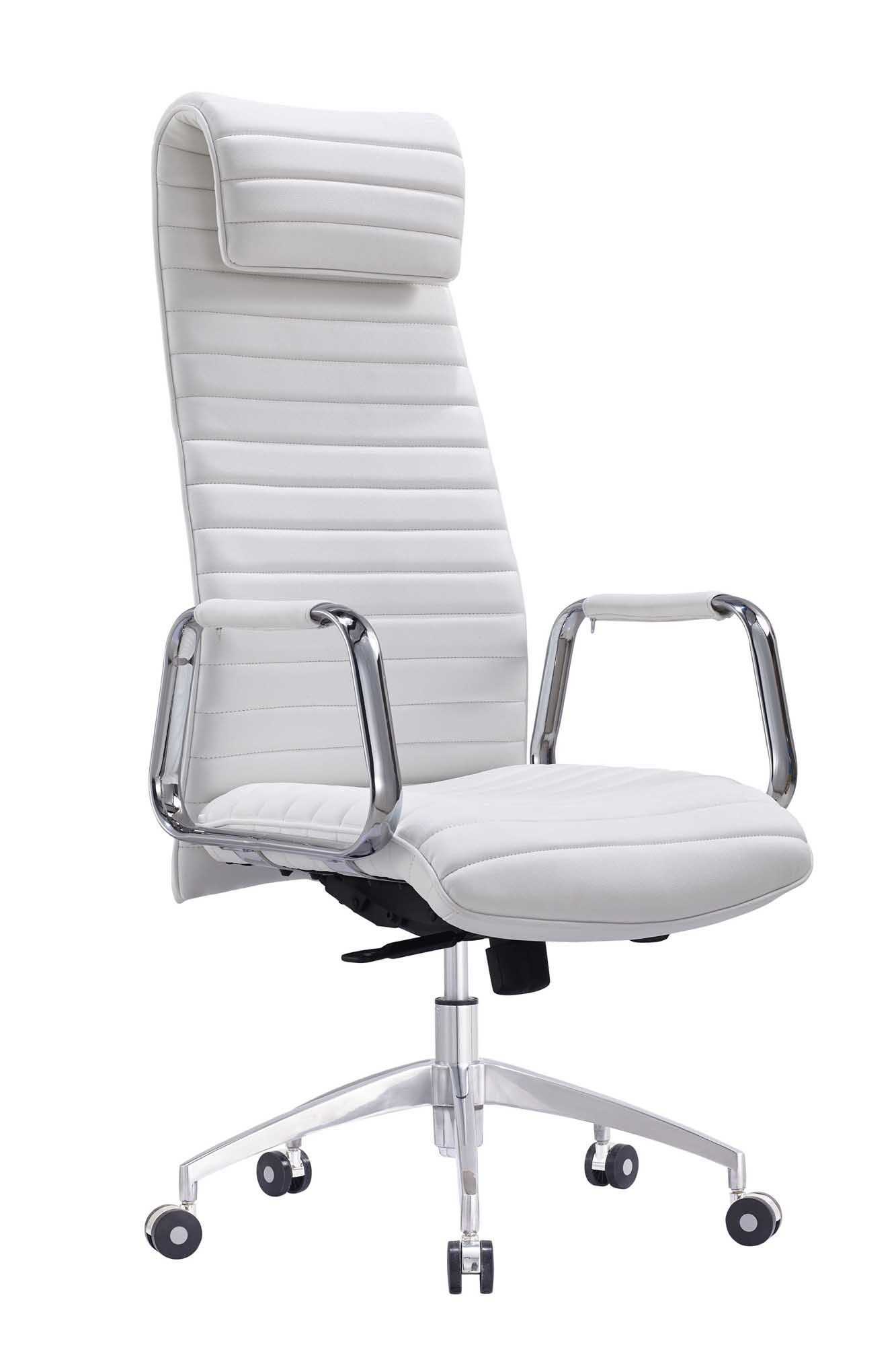 Whiteline oxford executive high back office chair