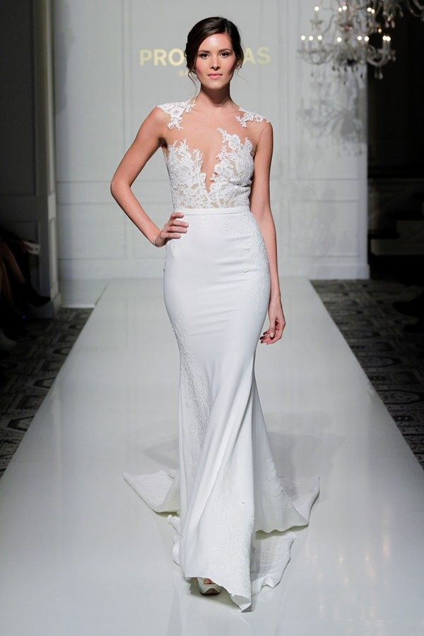 Sexy and revealing wedding dresses at New York Bridal Week ...