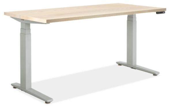 Sw Electric Adjustable Standing Height Desk Modern Desks Tables Modern Office Furniture Adjustable Height Desk Sit Stand Desk Ottoman In Living Room