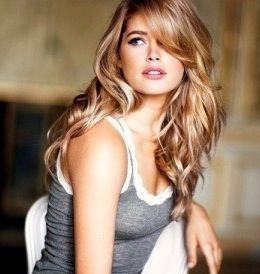 Lovely Hair Light Brown Base With Dark And Light Golden Blonde