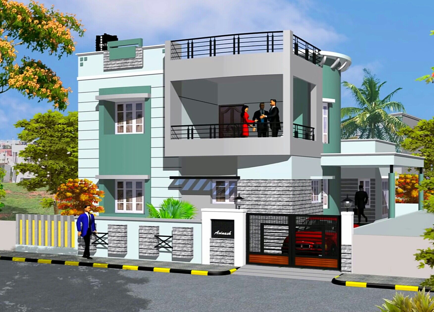 706 Best House Elevation Indian Images
