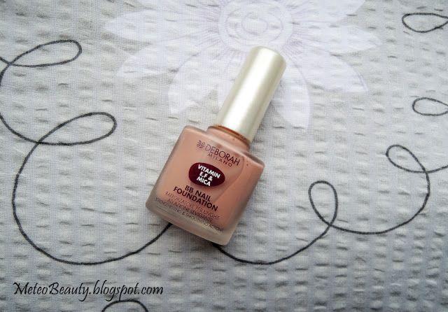 Meteo Beauty: Review: Deborah Milano BB Nail Foundation in 01 (Pink)