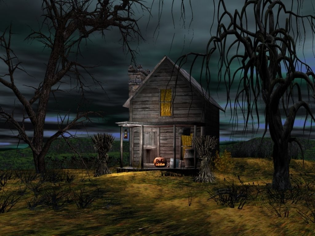 Halloween House With Images