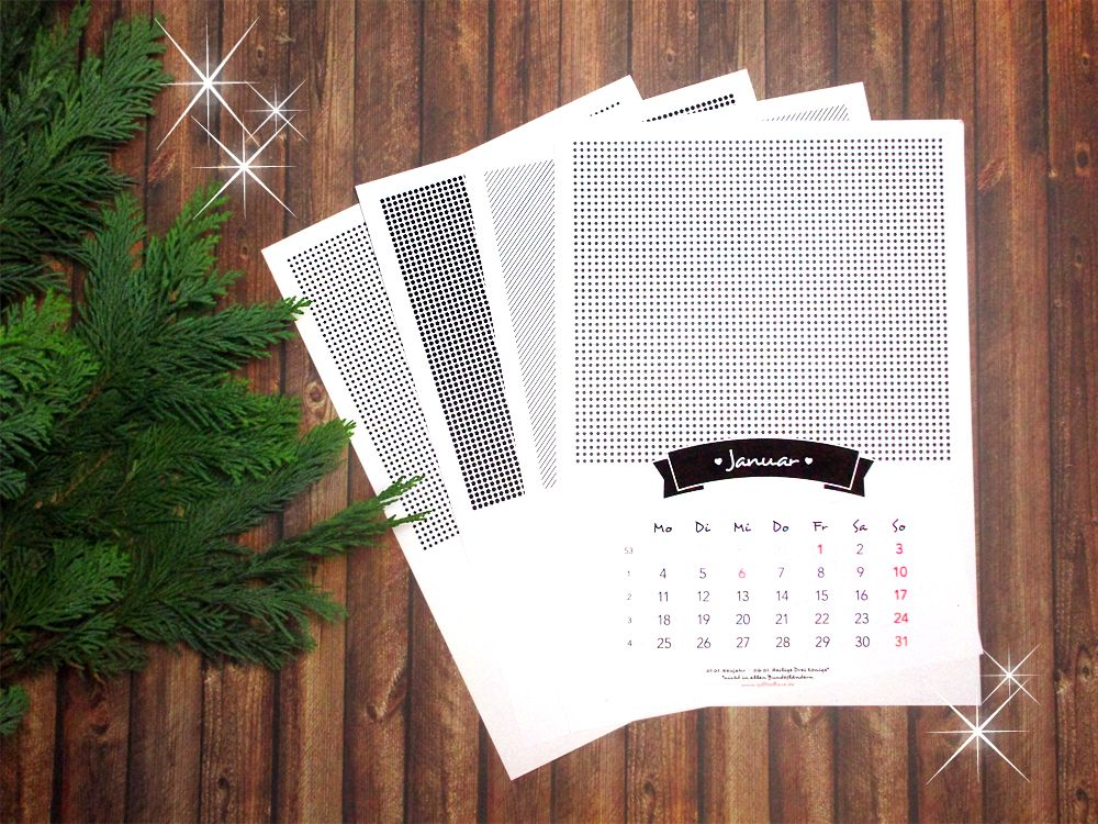 weihnachtsgeschenke selber machen verschenk zu weihnachten diesen fotokalender freebie. Black Bedroom Furniture Sets. Home Design Ideas