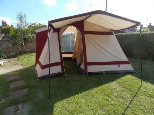 Relum Classic 4 Berth Tent Awning Retro Vintage