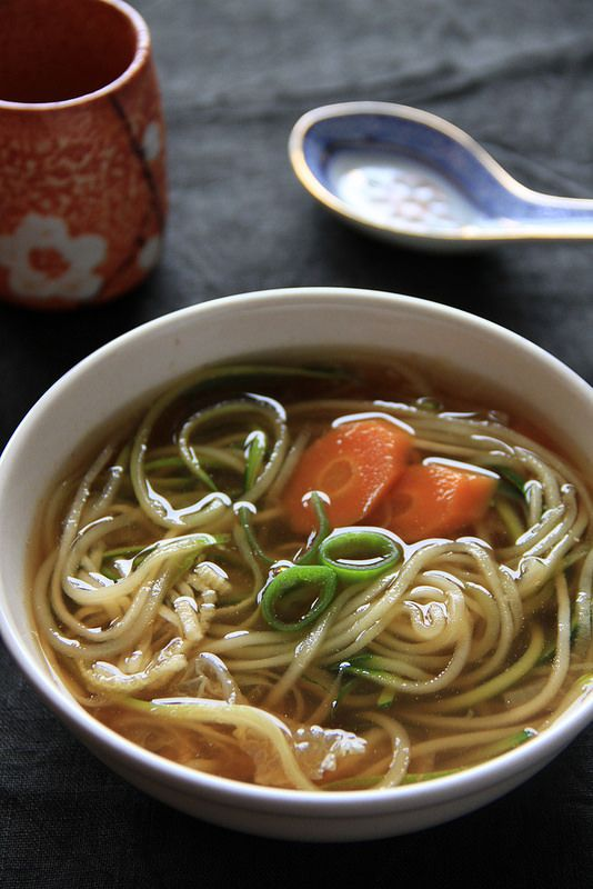 A quick and easy Japanese soup that is also nourishing (that happens to be Paleo) - Almost Bananas