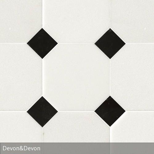 Fliesen von Devon \ Devon Fliesen, Fliesen schwarz weiß und