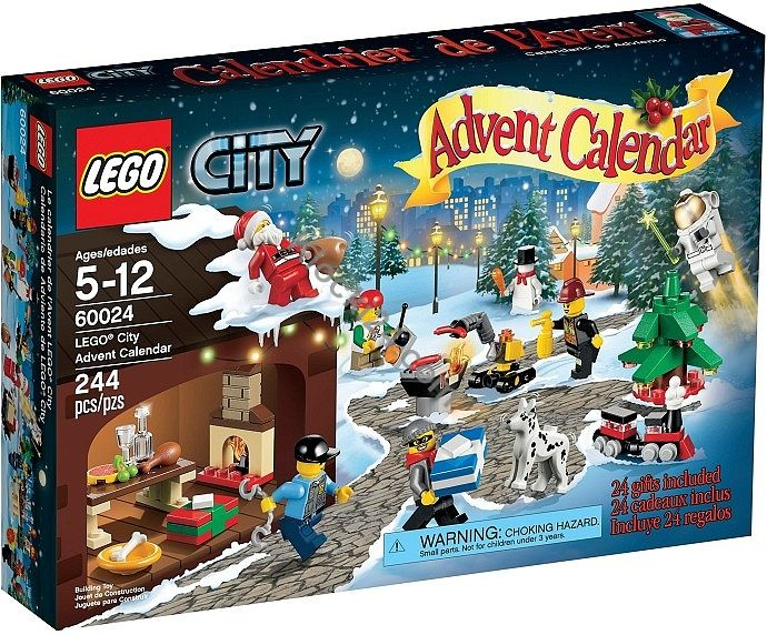 Lego 60024 City Advent Calendar Lego Hasbro Mattel Playmobil