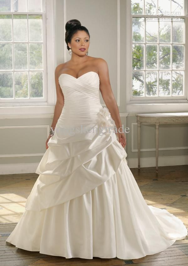 Wholesale Ivory Wedding Dresses Designer Plus Size Wedding Dresses