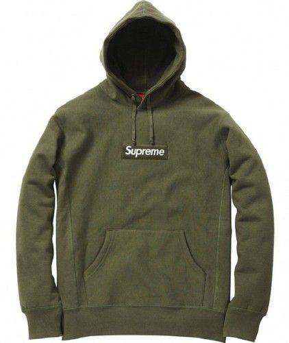 Supreme x Comme De Garcons Green Box Logo Hoodie | Vêtements