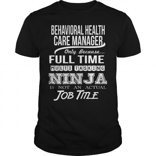 BEHAVIORAL HEALTH CARE MANAGER Only Because Full Time ...