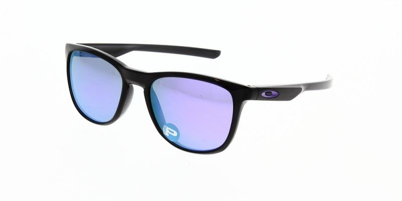 42a5c0e469 Oakley Sunglasses Trillbe X Polished Black Ink Violet Iridium Polarised…