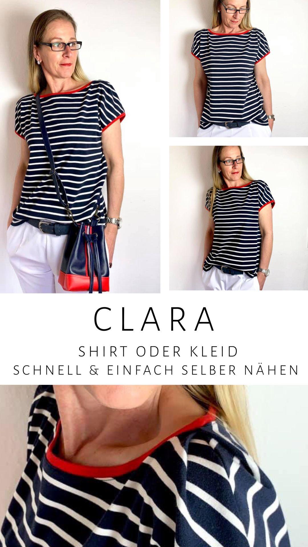 Clara Schnittmuster Damen Shirt von FinasIdeen