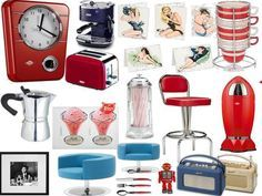 Medium image of retro inspired kitchen accessories   google search    american diner