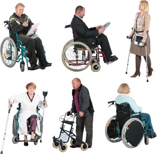 Handicapped People Bing Images People Png People Cutout Render People