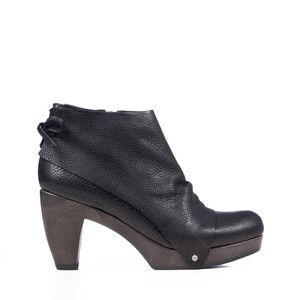 Ndakinna Clog Ankle Bootie Black, $326.75, now featured on Fab.  SOOOOOOOOOOOOO want these!