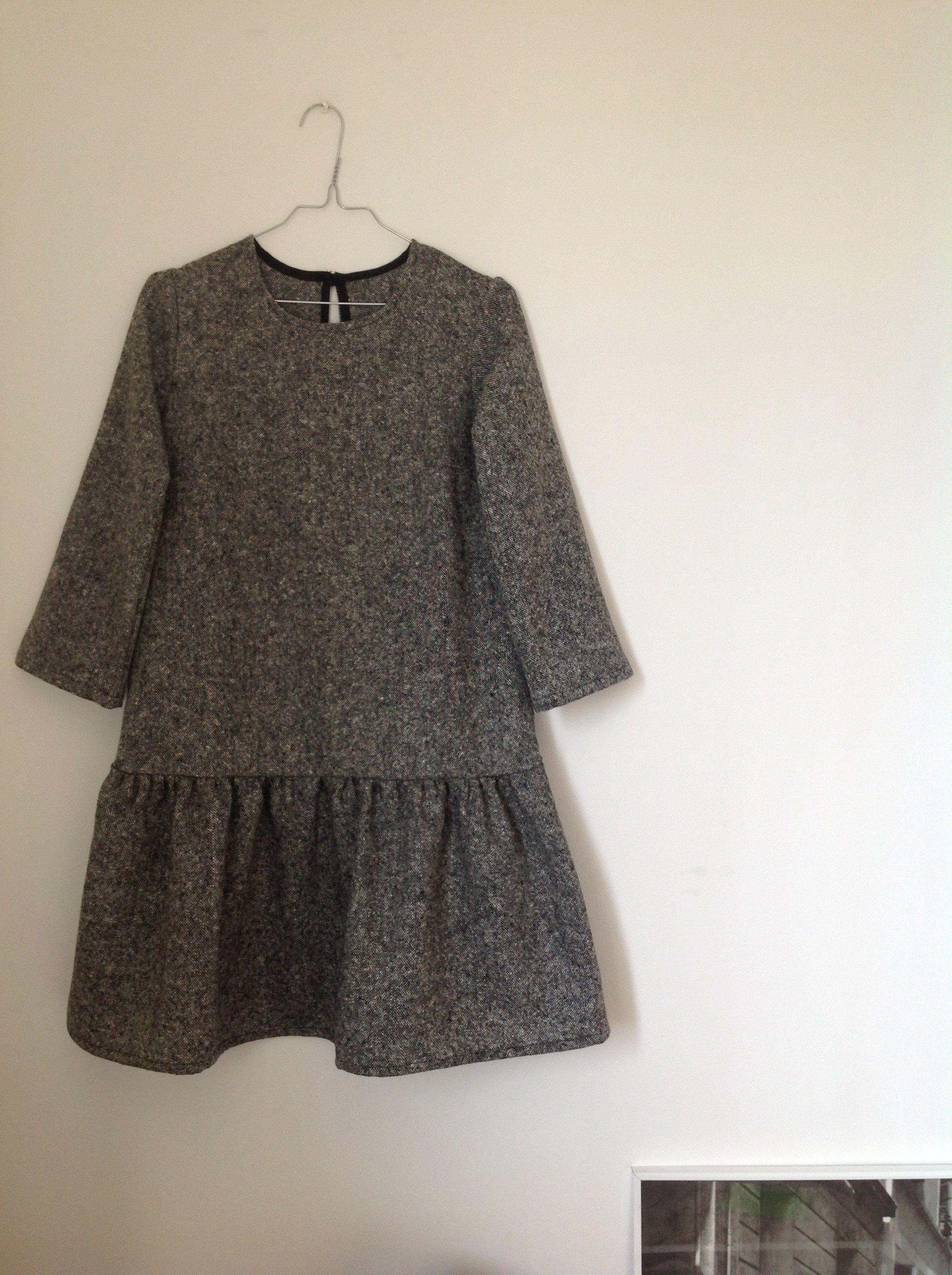 patron japonais pour utiliser mon tweed sewspiration pinterest couture robe et couture robe. Black Bedroom Furniture Sets. Home Design Ideas