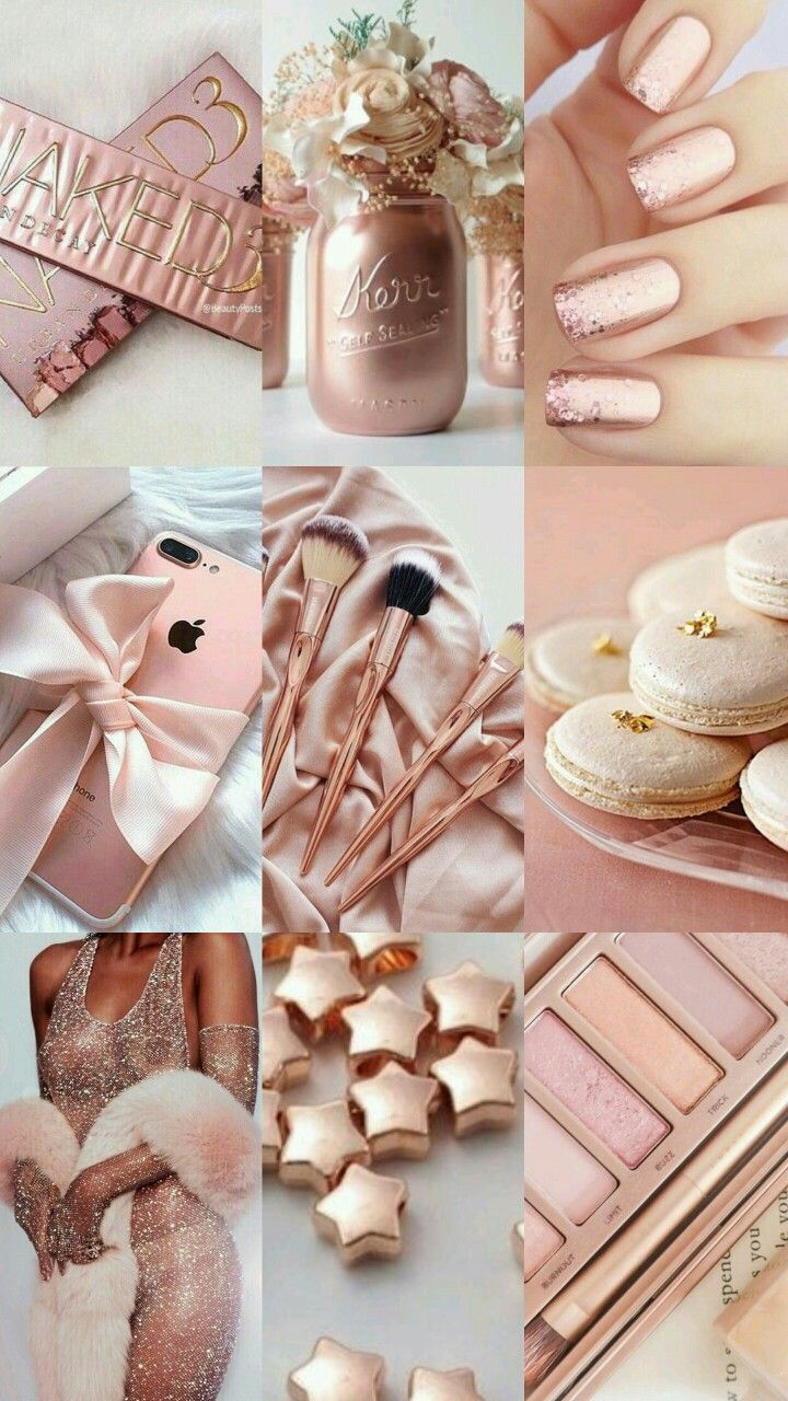 Rose Gold Aesthetic Pink And Gold Gold Aesthetic