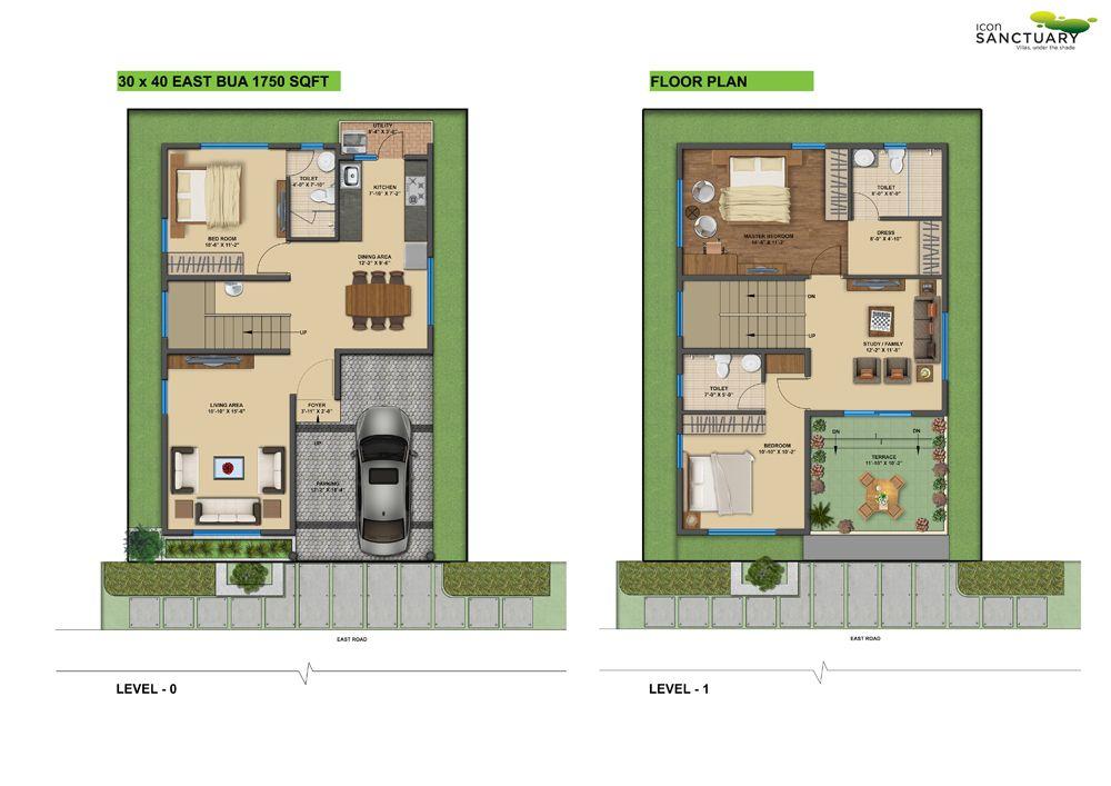 Sensational Design 14 Duplex House Plans For 30x50 Site East Facing Vastu  Home Images 1200 Sq