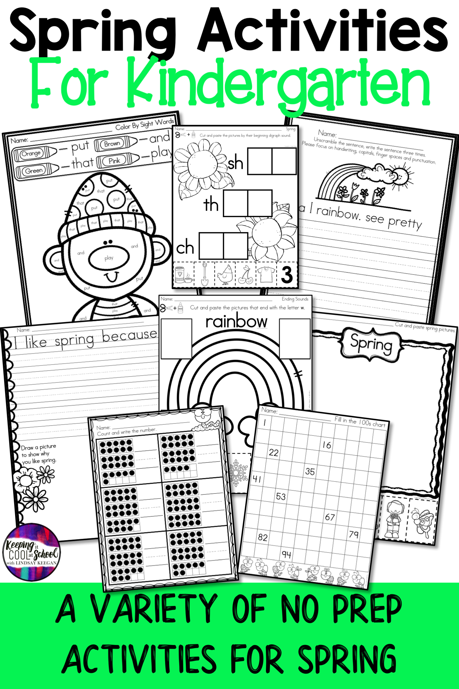 For 24hrs Spring Worksheets And Activities For