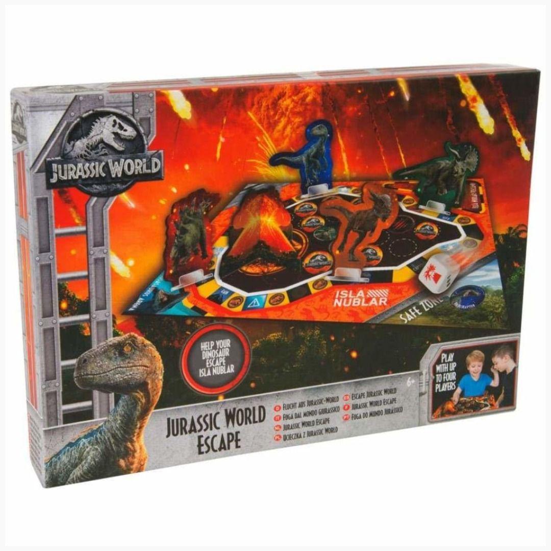 Jurassic World Fallen Kingdom Board Games for Kids