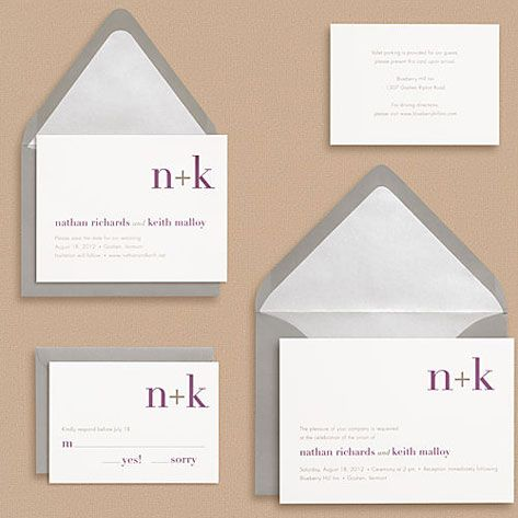 10 Best images about Monogram Wedding Invitations – Wedding Invitations with Monogram