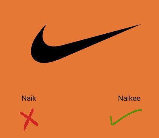 بالصور كيف تنطق أسماء الماركات الراقية بشكل صحيح لا إحراج بعد اليوم English Tips Lessons Learned Nike Logo