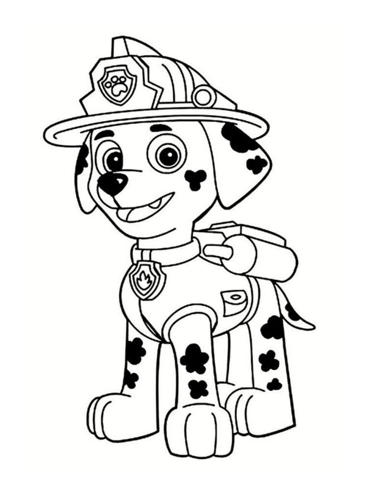 Coloriage Pat Patrouille 30 Dessins A Imprimer Gratuitement Coloriage Pat Patrouille Dessin Pat Patrouille Coloriage Pompier