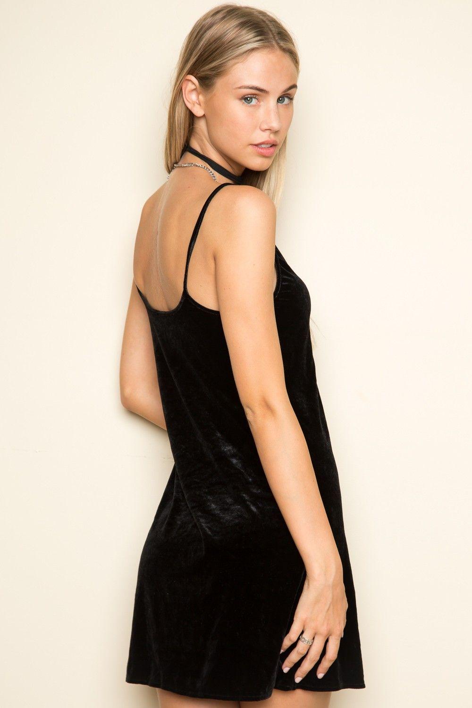 Black t shirt dress brandy melville - Brandy Melville Jackie Velvet Dress Dresses Clothing