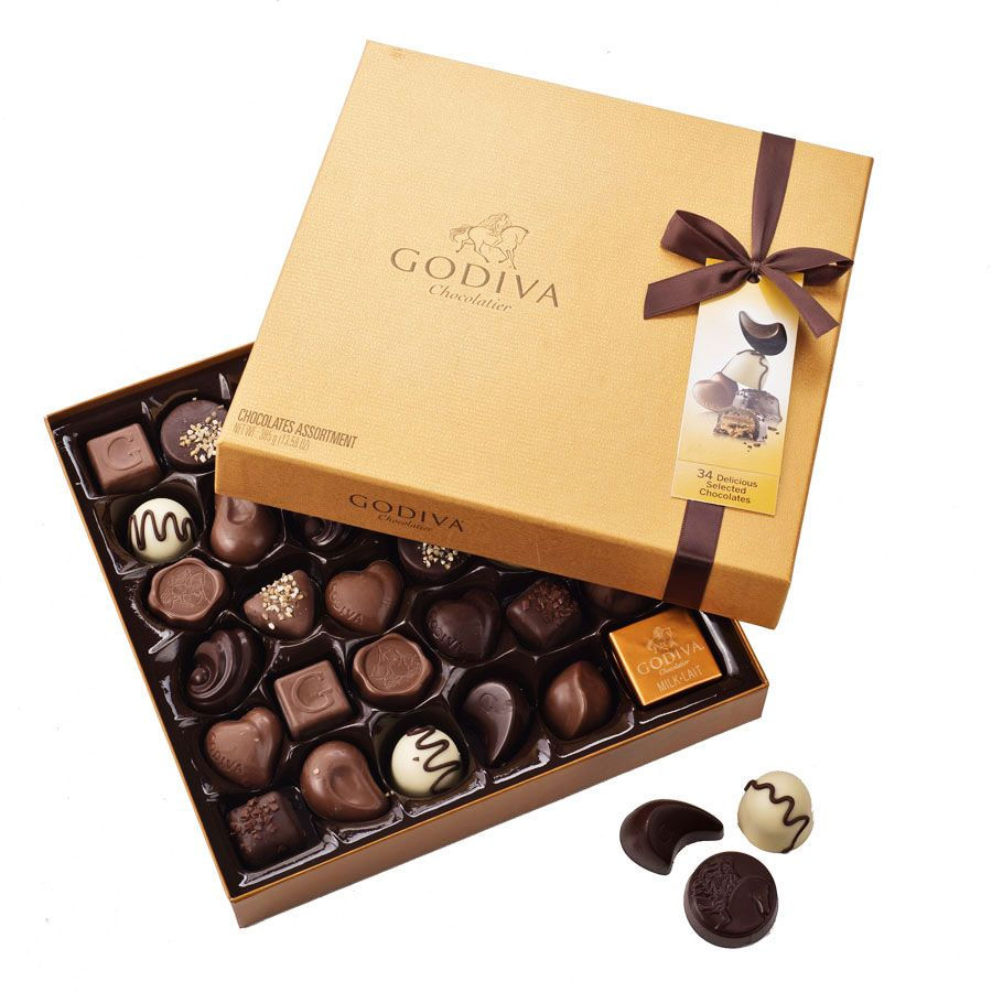 images of choclates | godiva gold rigid box 34 chocolates price ...