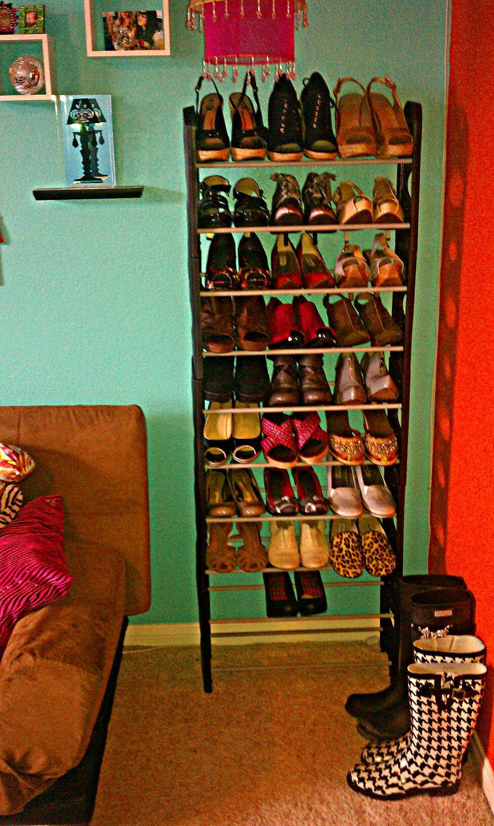 diy shoe rack easy to assemble make it cute 20 can on wood shoe rack diy simple id=71151