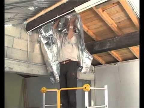 Isolation thermique  Isolant multiréflecteur sous toiture