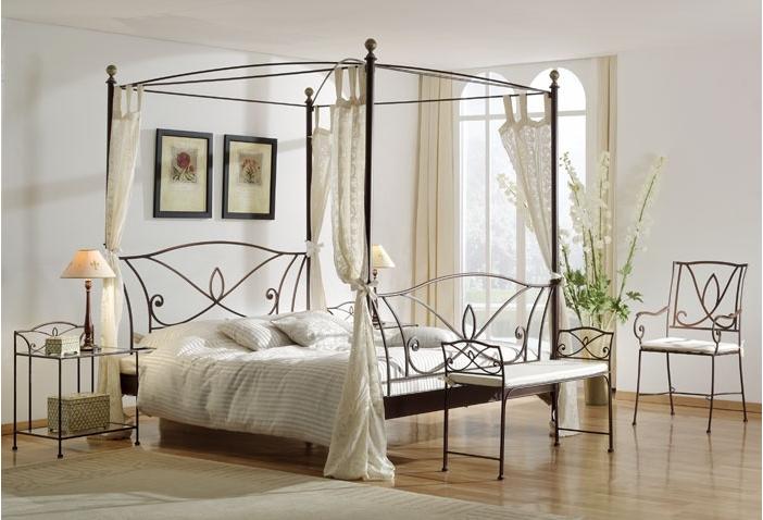 Lit A Baldaquin En Fer Forgé Design Salons Pinterest Bedrooms - Lit fer forge design