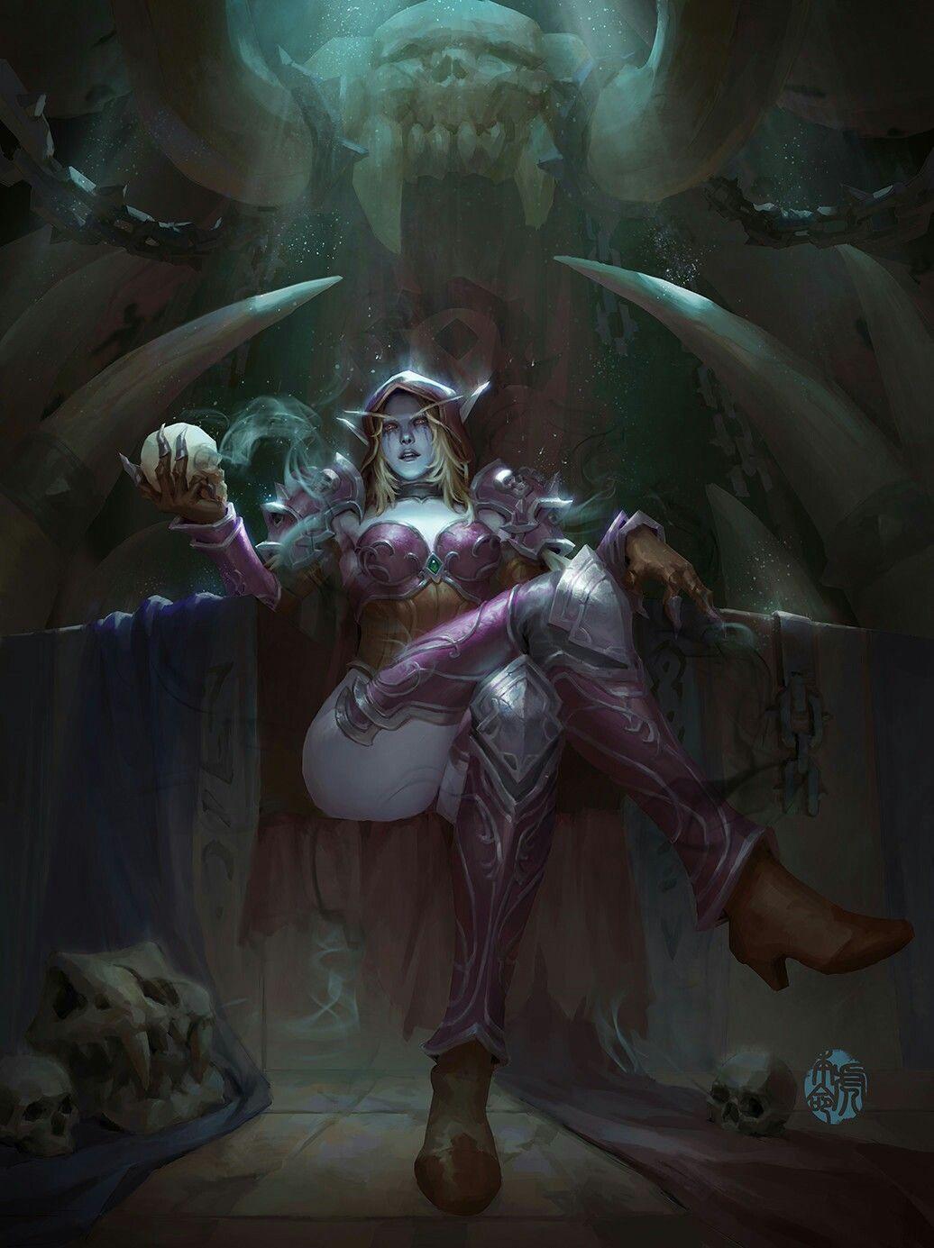 Pin by Iosif O. on Sylvanas Windrunner | Warcraft art