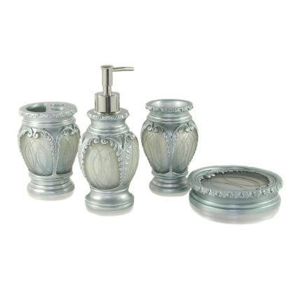 47 Amazon Com Dream Bath Silver Latern Bath Ensemble 4 Piece