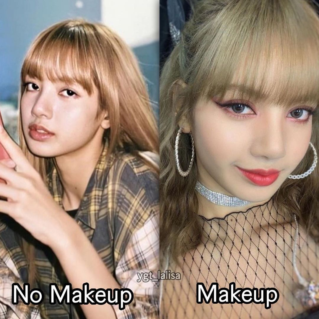 Makeup Or No Makeup Without Makeup Makeup Lisa