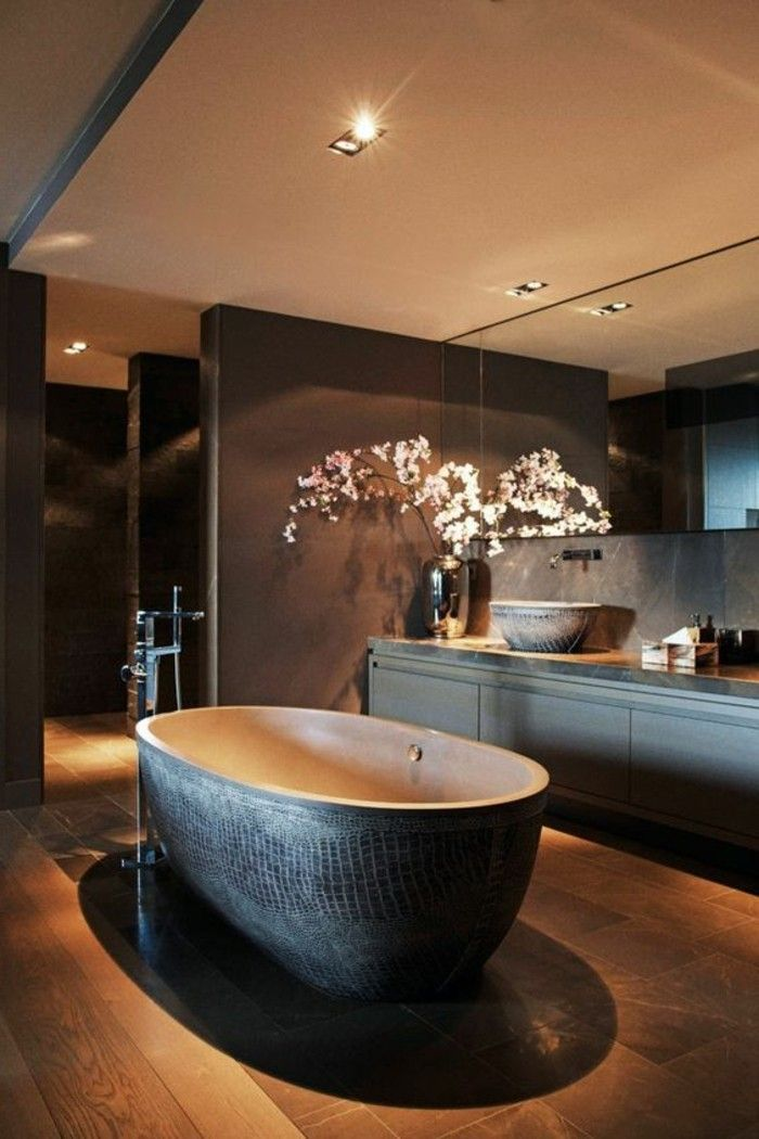 5 Badgestaltung Ideen Moderne Bader Badezimmer In Braun Gestalten Amazing  Bathrooms, Chic Bathrooms, Modern