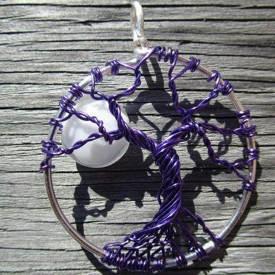 Purple tree of life